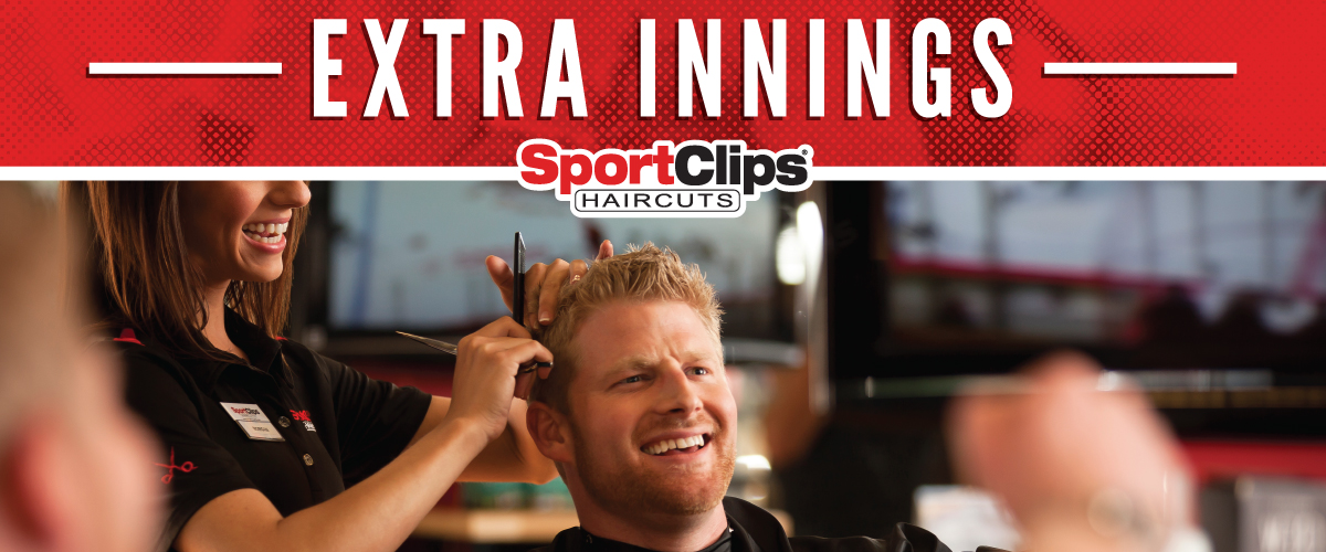 The Sport Clips Haircuts of Tampa - Citrus Park  Extra Innings Offerings